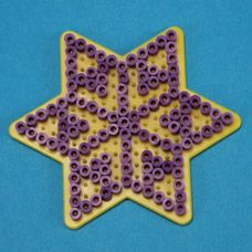 Melty Bead Snowflakes - Craft Project Ideas