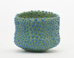 Takuro Kuwata   Bowl, 2014 porcelain 12,5 x 13 x 12,5 cm