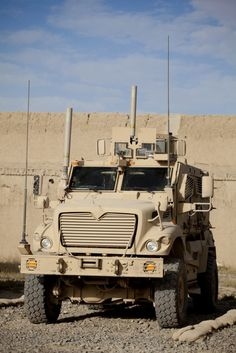MRAP .... use to seeing these everyday