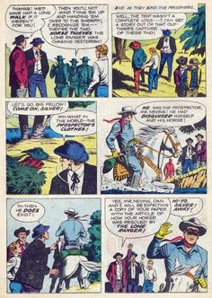 """Western Comics Adventures: LONE RANGER """"Story of the Lone Ranger"""" Conclusion"""