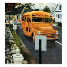 """""""You Forgot Your Lunch!"""", March 5, 1955 Giclee Print by George Hughes at Art.com"""