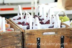 Roasted Balsamic Cherries with Vanilla Ice Cream (Market Monday)
