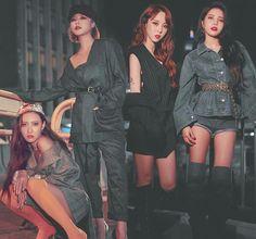 Okay but mamamoo is hawt Kpop Girl Groups, Korean Girl Groups, Kpop Girls, K Pop, Divas, Mamamoo Kpop, Solar Mamamoo, Soyeon, Korean Music