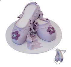 Ballet Shoes cake for ballet birthday party