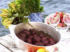 Marinerade rödbetor med sumak och dill | Recept.nu