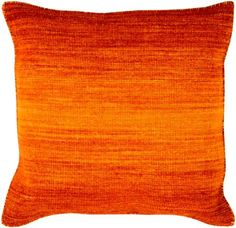 Art of Knot Stoneleigh 18 inch x 18 inch Pillow Cover, Orange Modern Throw Pillows, Floral Throw Pillows, Toss Pillows, Throw Pillow Sets, Outdoor Throw Pillows, Accent Pillows, Orange Throw Pillows, Pillow Talk, Orange Ombre