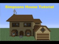 ▶ Minecraft 360: How to Build The Simpsons House (House number 4) - YouTube