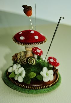 WOW, ONE DAY pin cushion