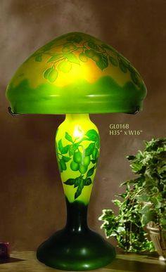 Part Vases, lamps, furniture. Lampe Art Deco, Lampe Decoration, Jugendstil Design, Tiffany Art, Tiffany Glass, Art Nouveau Furniture, Stained Glass Lamps, Art Nouveau Design, Antique Lamps