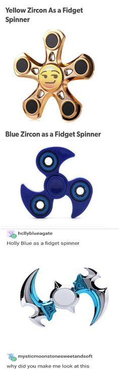 we are the fidget spinners we'll always spin real fast and if you thing we can't we'll stab you in the ass