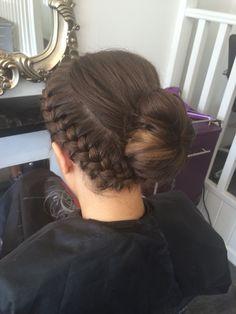 Grad Ball hair-do