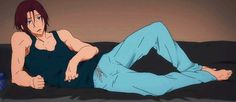 ♥~rin is so sexy.draw me like one of your french girls. I'd gladly draw him like one of my French girls. Anime Gifs, Manga Anime, Tokyo Ghoul, Haikyuu, Rin Matsuoka, Otaku, Anime Amor, Makoto, Black Butler