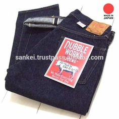 Source Specialty Japanese Selvedge Denim Jeans with vintage detail functions made in Japan.Double Works on m.alibaba.com