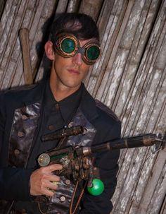 Steampunk men's costume ideas