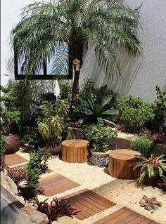 Meditterrean garden landscaping Paisagismo do jardim Meditterrean Pergola Design, Diy Pergola, Backyard Pool Landscaping, Backyard Landscaping, Landscaping Design, Landscaping Software, Backyard Ideas, Indoor Garden, Outdoor Gardens