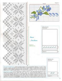 Filet Crochet, Crochet Borders, Crochet Cross, Crochet Stitches Patterns, Love Crochet, Cross Stitch Patterns, Crochet Tablecloth, Crochet Doilies, Cross Stitch Embroidery