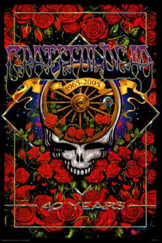 Grateful Dead, ❤ this concert poster