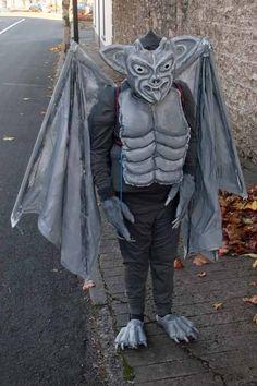 diy gargoyle costume halloween 2012 more
