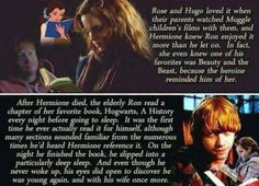 I bet Ron would do this despite the arguments they had and the rough times they went through. I'm the end Ron still loved her and Hermione still loved him❤