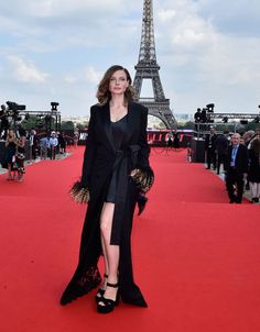 Rebecca Ferguson In Sonia Rykiel Haute Couture Hollywood Cinema, Hollywood Actor, Rebecca Ferguson Actress, Swedish Actresses, Michelle Monaghan, Mission Impossible, Sonia Rykiel, Red Carpet Fashion, Most Beautiful Women
