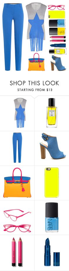 """Stella McCartney Fringed Top - Top Set 10/11/16"" by juliehalloran ❤ liked on Polyvore featuring STELLA McCARTNEY, Rodin, Emilio Pucci, Hermès, Casetify, Corinne McCormack, NARS Cosmetics, Bobbi Brown Cosmetics and Lipstick Queen"
