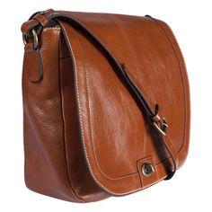 Vintage Leather Saddlebag