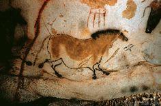 Amazon.com: H5D7096 Lascaux Cave Painting Ancient Art