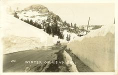 Wishing for snow like the old days! Lincoln Highway, Truckee, California