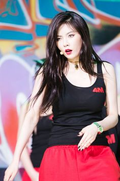 Hyuna from 4minute - HATE ^^