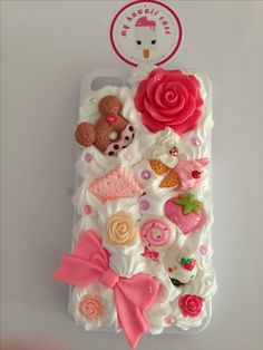 Whipped cream decoden phone case, can be made for any phone Diy Whipped Cream, Decoden Phone Case, Video Games For Kids, Polymer Clay Charms, Dinner Recipes For Kids, Some Fun, How To Introduce Yourself, Amazing, Iphone Cases