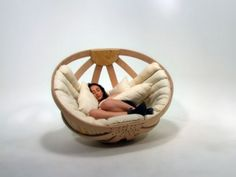 Cradle rocking chair