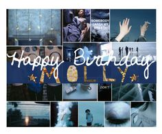 """HAPPY (belated) BIRTHDAY MOLLY"" by weaboo-babe-rp ❤ liked on Polyvore featuring art"
