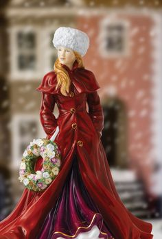 Holiday Greetings - Christmas Figure of the year 2013 Royal Doulton. Waterford Wedgwood Royal Doulton, San Marcos, TX 1-800-203-4540