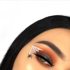 This Halloween eye art by @ciennajanebeauty is so cute If you have any Halloween parties planned, this would be such a quick + easy option How beautiful is Cienna's eye makeup though?! . Make sure you use #abeautyedit in your beauty IG posts if you'd like to be featured on our page . • • #regram #beautyaddict #featurepage #undiscovered_muas #beautycommunity #makeupmess #talkthatmakeup #makeupaddiction #myartistcommunity #bbloggers #blendthatshit #makeupporn #makeupaddict #be...