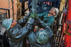 national geographic oilfield roughneck picture - Google Search