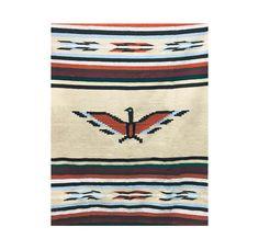 Mexicaanse Thunderbird Deken Tapijt Authentieke | Etsy Yoga Blanket, Beach Blanket, Camping Blanket, Picnic Blanket, Southwestern Blankets, Mint Blue, Light Covers, Tapestry Wall Hanging, Navajo