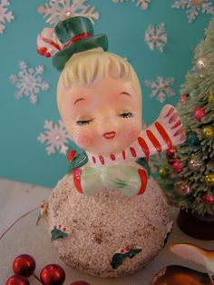 Lefton Vintage Snowman