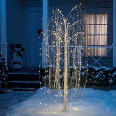 Outdoor Christmas Light Displays, Christmas House Lights, Xmas Lights, Christmas Decorations For The Home, Christmas Home, Outdoor Christmas Trees, Christmas Artwork, Country Christmas, Christmas Shopping