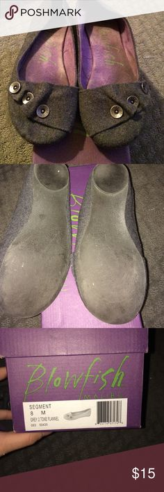 Flats size 8 so comfortable worn only twice Blow fish flats only worn twice size 8 comfortable Shoes Flats & Loafers