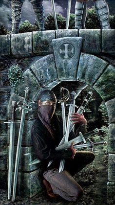 Seven of Swords - Gentry Smith Tarot