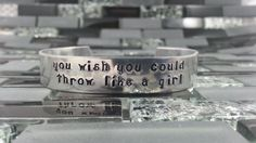 Softball Jewelry / Custom Hand Stamped you wish by BobbieJoDesigns, $19.99