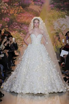 Zuhair Murad from Couture Spring 2014 in Paris