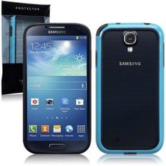 Samsung Galaxy S4 - Bumper Case By Terrapin – Blue/Black