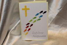 Einladungskarten -  Einladung zur Konfirmation/Kommunion/Firmung - ein Designerstück von Twinsandmore bei DaWanda