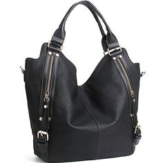 New Trending Shoulder Bags: JOYSON Women Handbags Hobo Shoulder Bags Tote PU Leather Handbags Fashion Large Capacity Bags Black. JOYSON Women Handbags Hobo Shoulder Bags Tote PU Leather Handbags Fashion Large Capacity Bags Black   Special Offer: $31.99      211 Reviews This Top Handle Bags Made of High Quality PU Leather. Inner Lining was Made by Fabric. There is a Removable and Adjustable Shoulder Strap. The...