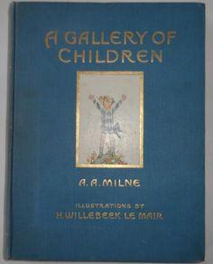 A A MILNE. H WILLEBEEK LE MAIR, SAIDA, 1ST EDITION 1ST ISSUE 1925. BRIGHT COPY | eBay