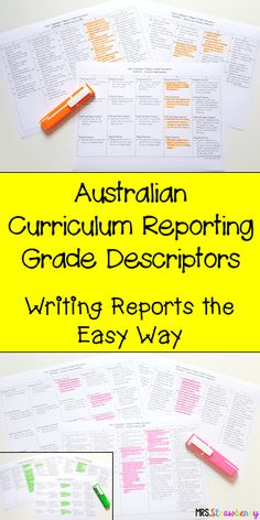 If you're on the lookout for an easy way to go about writing student reports at the end of the term - here it is! Use the tips, ideas, and resources here to complete the rubrics for your Australian Foundation and Year 1, 2, 3, 4, 5, or 6 students in English, Mathematics, and Science. Every teacher in Australia knows filling out these end of year report cards can be stressful and time consuming, but it doesn't have to be! Click through now to learn more!