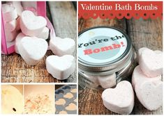 Bath Bombs | 40 DIY Valentine's Day Gifts They'll Actually Want
