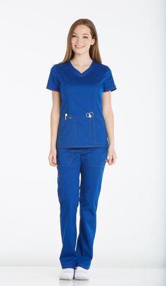 Dickies Medical DK803-GAB Filipina Medica Grey's Anatomy, Filipino, Cherokee, Medical, Jumpsuit, Dresses, Fashion, Medical Scrubs, Overalls