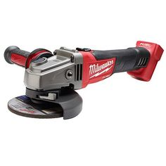 18-volt FUEL 4-1/2 inch and 5 inch Grinder, Slide Switch Lock-On Tool Only | Milwaukee Tool
